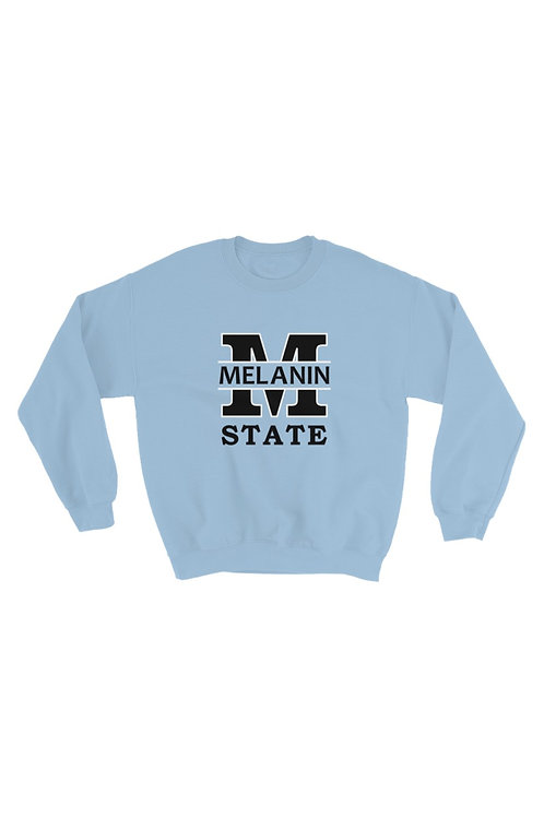 Unisex Melanin State Sweater - Melanin Pride Sweater - Melanin Collegiate Shirt