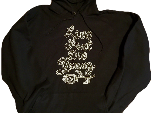 Live Fast Die Young Pullover Hoodie