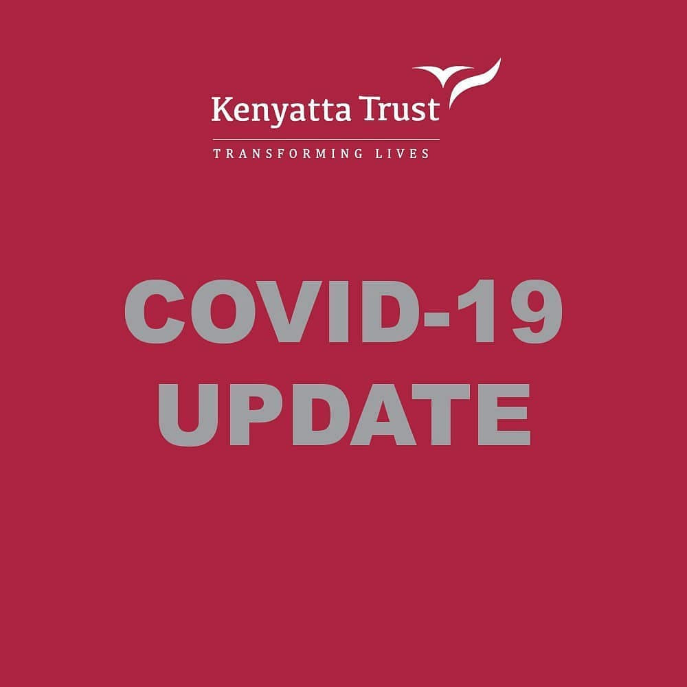 Updates about the COVID-19 pandemic from The Kenyatta Trust.