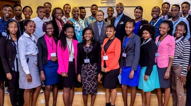 Manu Chandaria and The Kenyatta Trust College Scholars