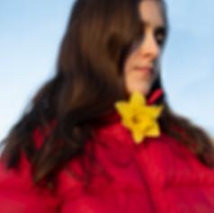 Red Coat Yellow Flower