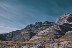 Mountain slide