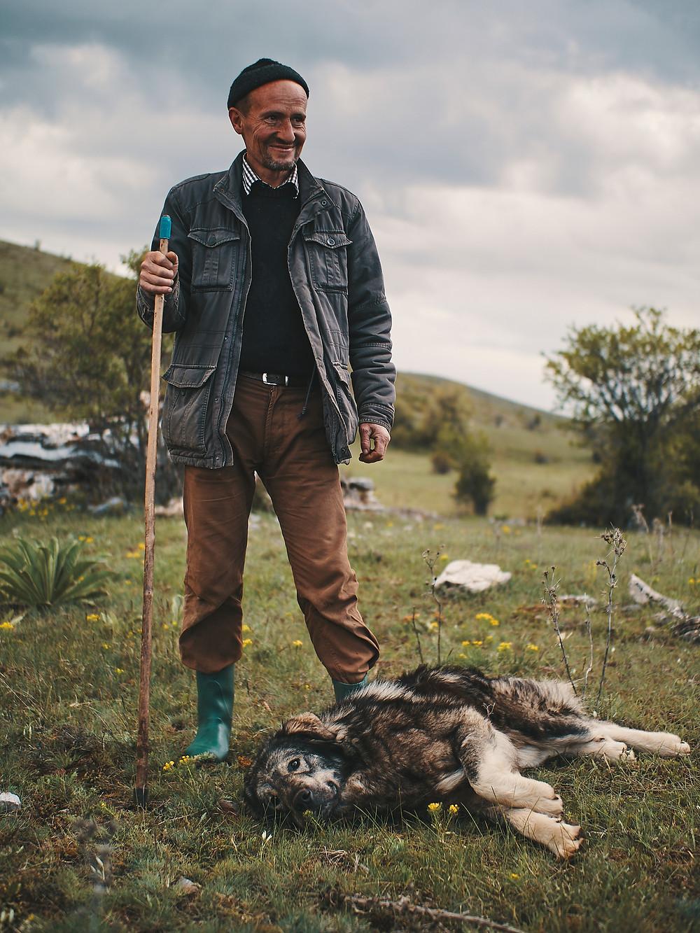 Macédoine, berger