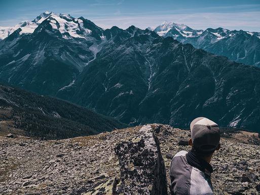 deux pas vers l'autre, 2PVA, thru-hike europe, ultralight hiking trip, europe, switzerland, alps, upper valais, nil