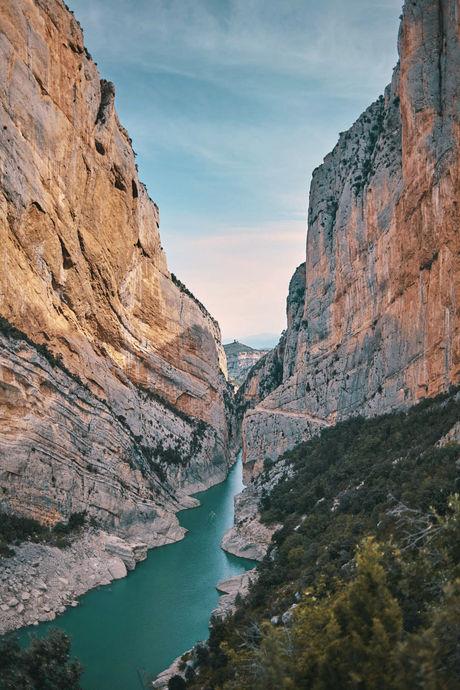 Congost de Mont Rebei, Catalogne