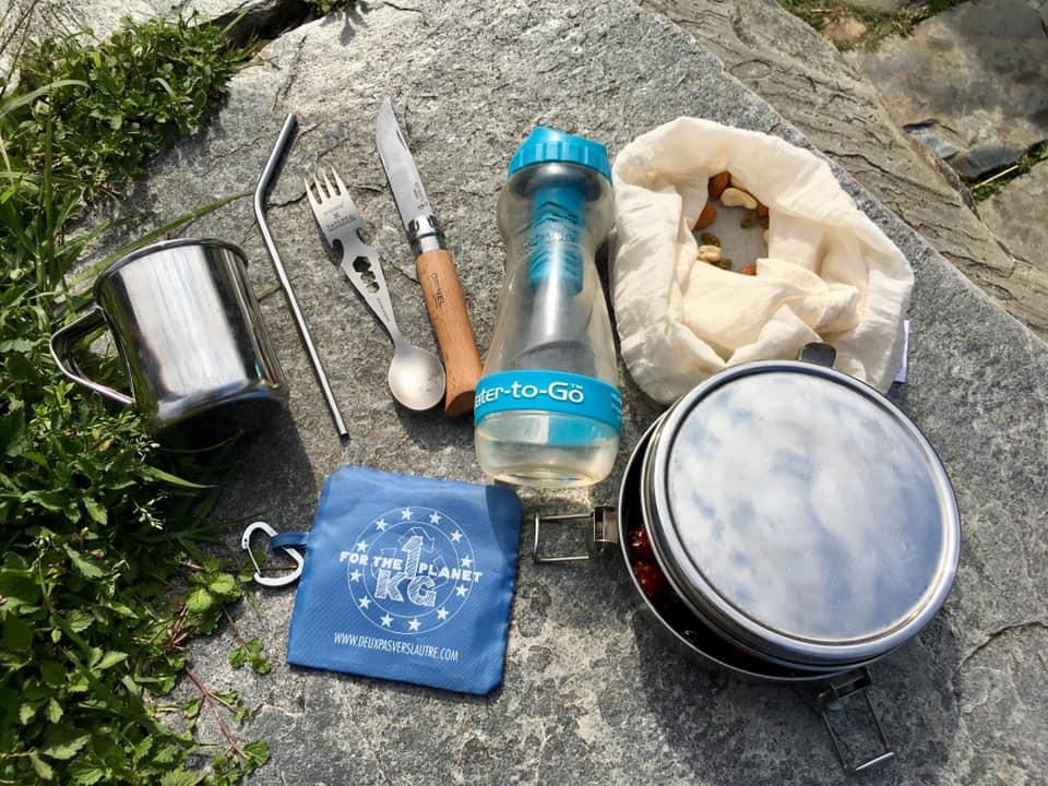 zero waste travel kit