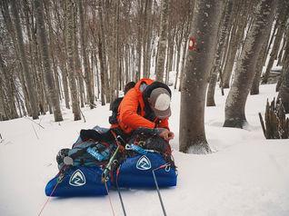deux pas vers l'autre, 2PVA, thru-hike europe, ultralight hiking trip, europe, croatia, hiking croatia, lika-senj, southern velebit, velebit national park, sledges, zpacks