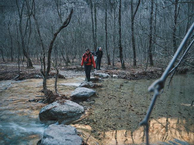 deux pas vers l'autre, 2PVA, traversée de l'Europe, voyage à pied, randonnée ultralight, europe, croatie, randonnée croatie, lika-senj, parc national paklenica, mala paklenica, canyon