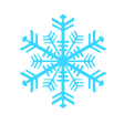 snowflake icon, winter hiking gear