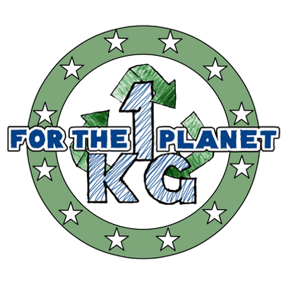 Deux Pas Vers l'Autre, logo 1kg for the planet
