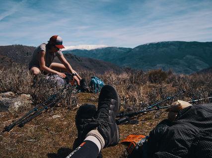 deux pas vers l'autre, 2PVA, traversée de l'Europe, voyage à pied, randonnée ultralight, europe, espagne, extremadura, montagne