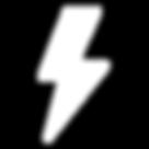 logo éclair, matériel électronique randonnée