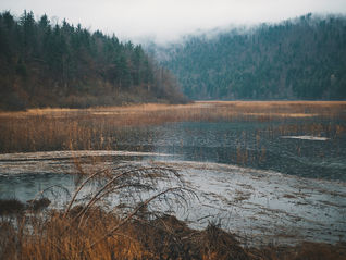 deux pas vers l'autre, 2PVA, thru-hike europe, ultralight hiking trip, europe, slovenia, hiking slovenia, Notranjska, lake cerknica