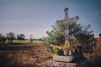 The meadow and the cross