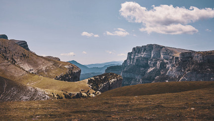 The last canyon of Spain