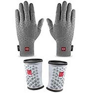 compressport thermo gloves and sweatbands