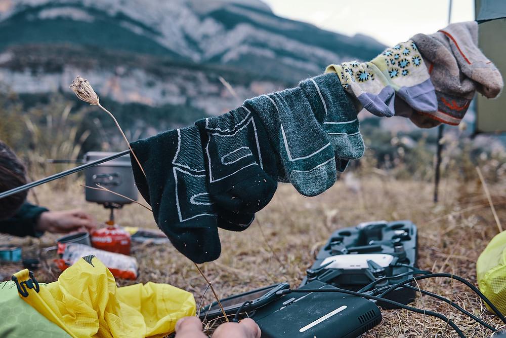 Deux Pas Vers l'Autre - Chaussettes de randonnée