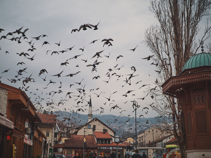 deux pas vers l'autre, 2PVA, traversée de l'Europe, voyage à pied, randonnée ultralight, europe, bosnie-herzégovine, bosnie, randonnée bosnie, sarajevo
