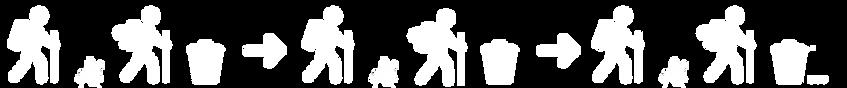 Deux Pas Vers l'Autre, logo 1kg for the planet, collecte de dechets