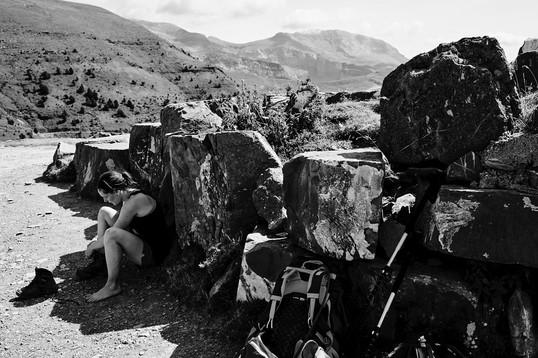 Break... in the shade