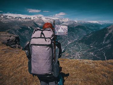 deux pas vers l'autre, 2PVA, thru-hike europe, ultralight hiking trip, europe, switzerland, alps, upper valais, zpacks arc zip backpack