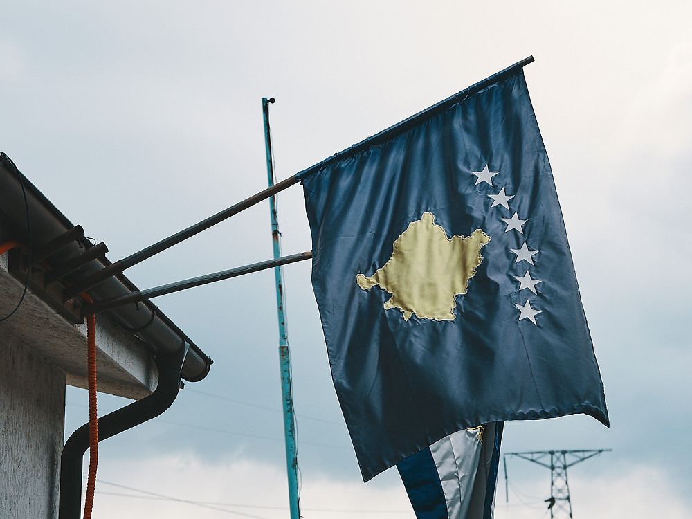 Kosovo, drapeau
