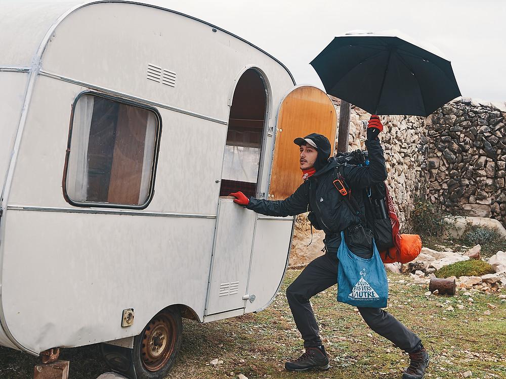 Caravane, Krk, Croatia