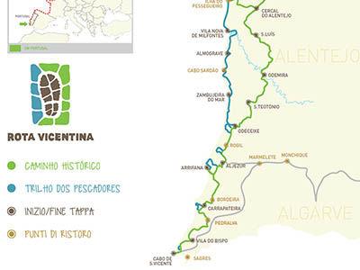 Rota Vicentina, randonnée Portugal
