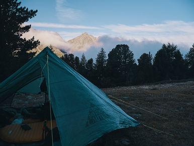 deux pas vers l'autre, 2PVA, thru-hike europe, ultralight hiking trip, europe, switzerland, alps, upper valais, zpacks triplex tent