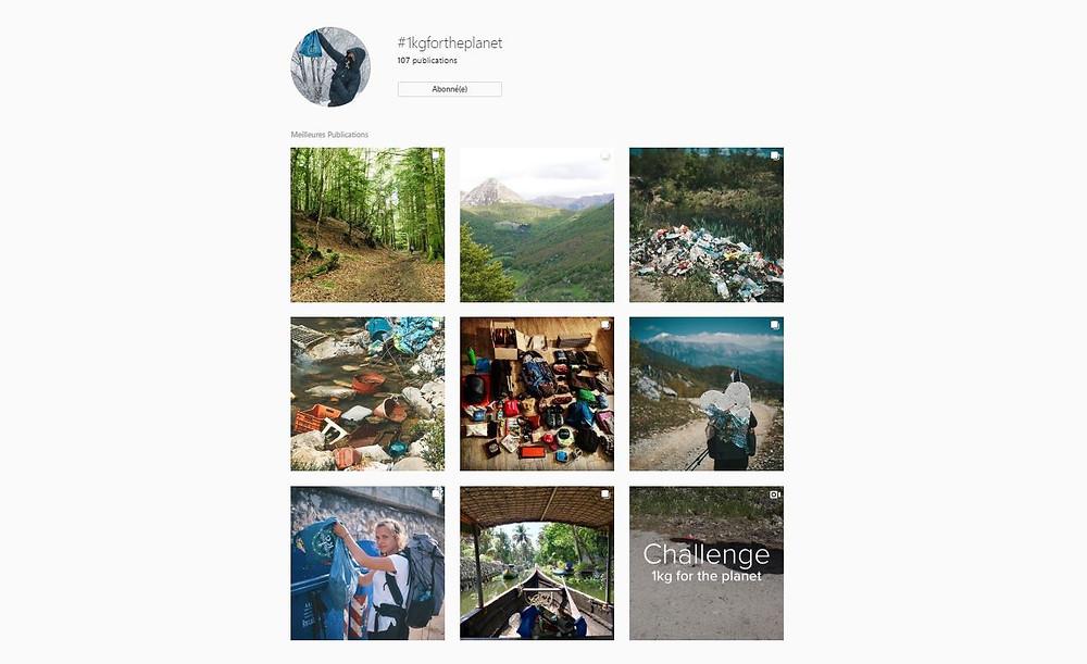 Instagram #1kgfortheplanet