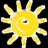 sun icon, summer hiking gear