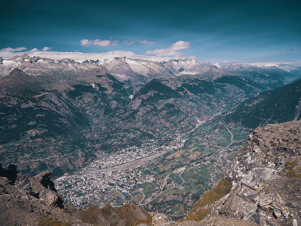 deux pas vers l'autre, 2PVA, thru-hike europe, ultralight hiking trip, europe, switzerland, alps, upper valais, rhone valley