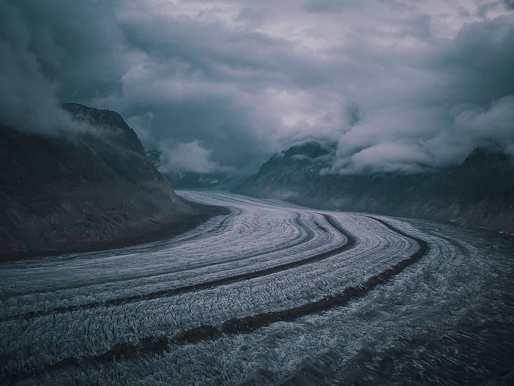 deux pas vers l'autre, randonnée ultralight, traversée de l'europe, voyage à pied, suisse, aletsch