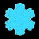 logo flocon, matériel randonnée hiver