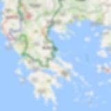 Itinéraire randonnée Grèce