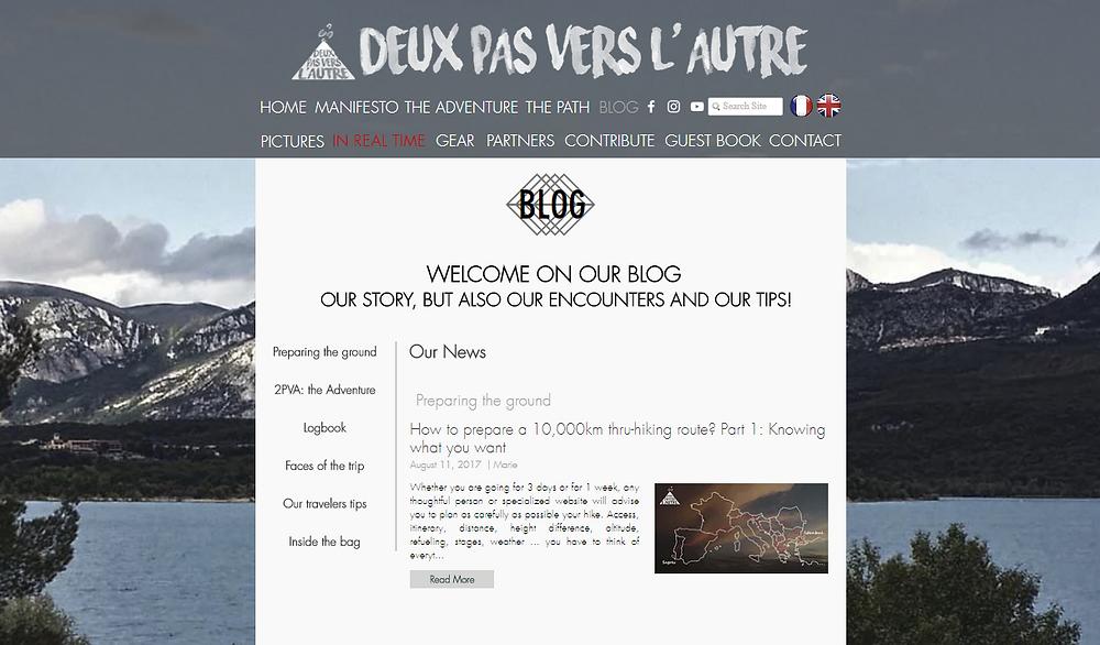 Blog - Deux Pas Vers l'Autre
