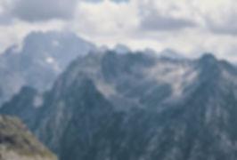 Montagnes, Alpes, randonnée