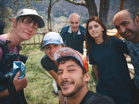 deux pas vers l'autre, 2PVA, traversée de l'Europe, voyage à pied, randonnée ultralight, europe, monténégro, randonnée monténégro,  kralje