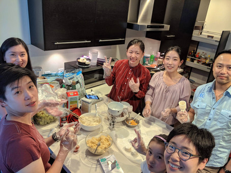 Mid-Autumn Festival & Mooncake Making Reunion