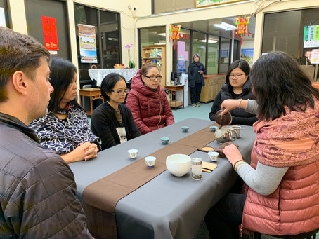 San Francisco Young Adult Division Tea Meditation Final Class