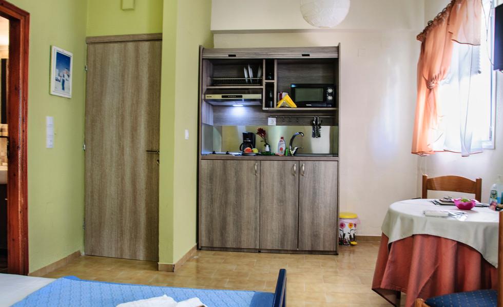 Kitchen in studio 1