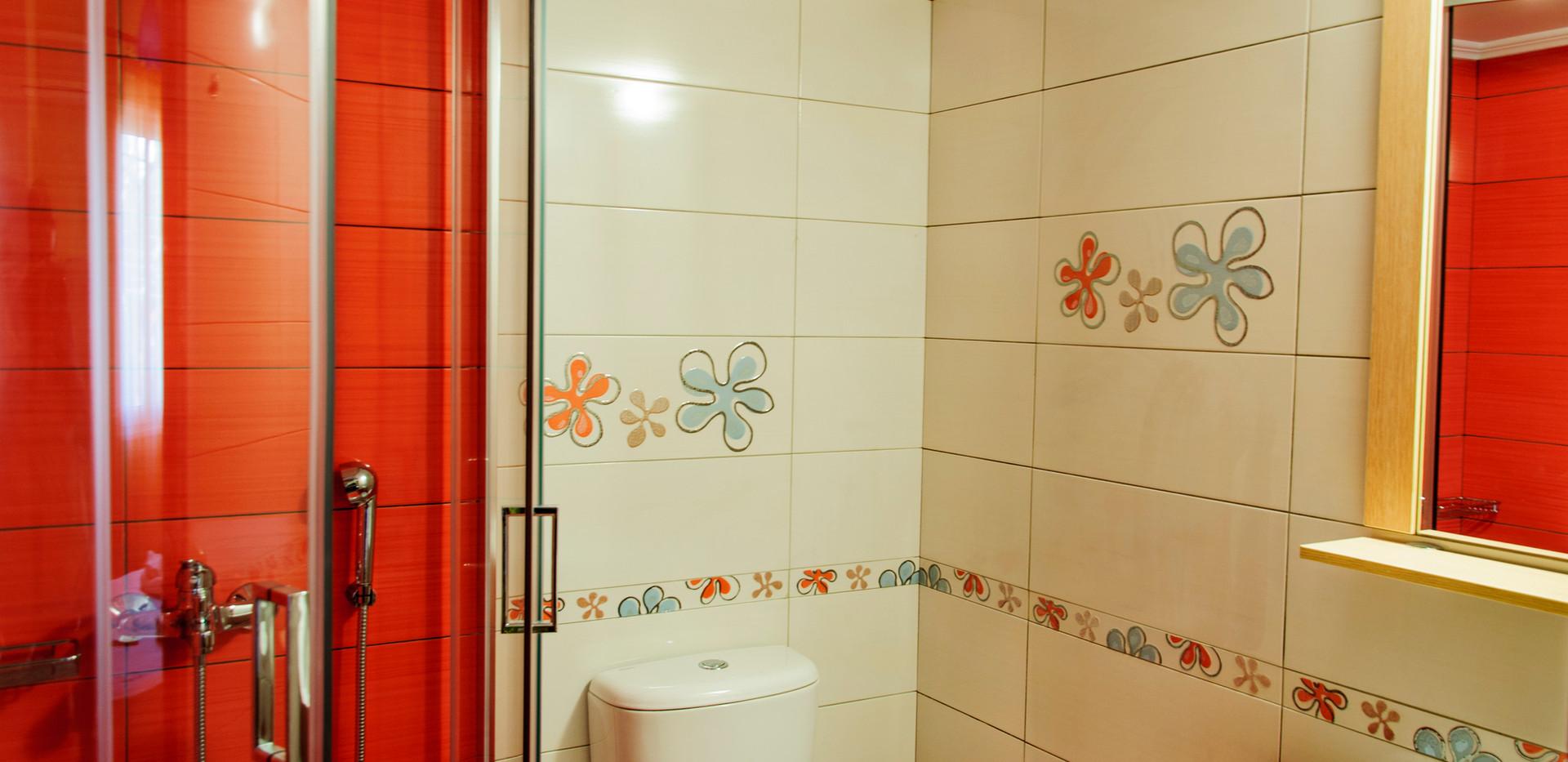 Bathroom of economy double room