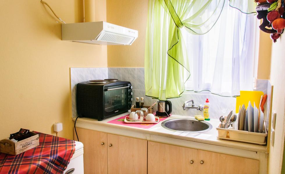 kitchen of studio Christina