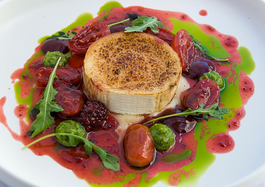 roasted goat cheese