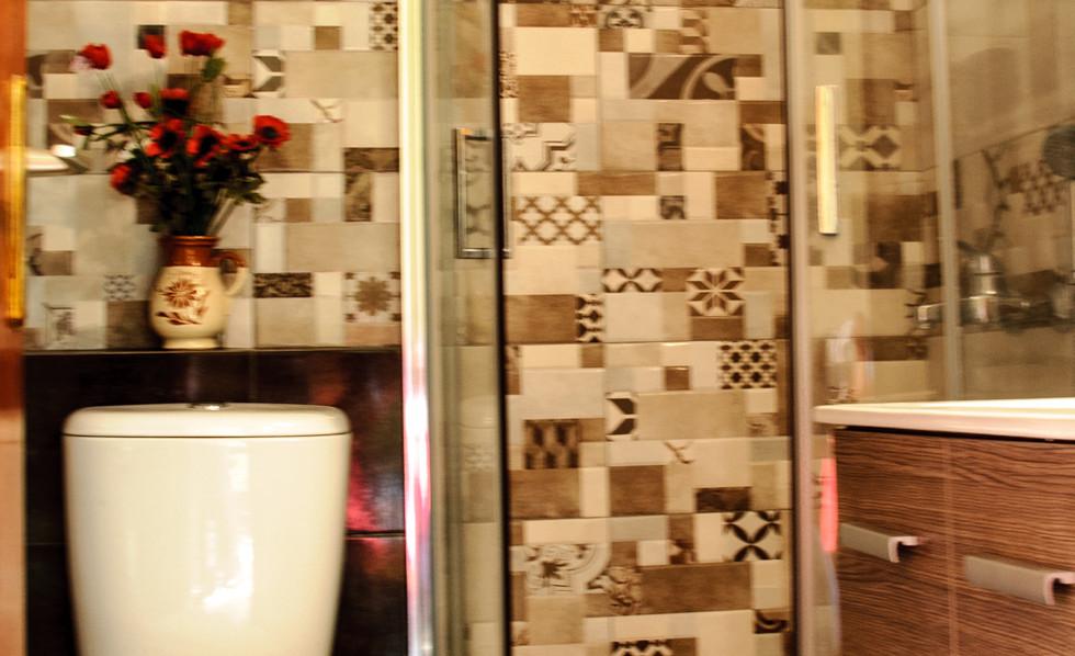 bathroom of studio Christina