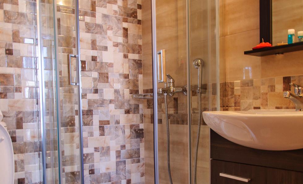 Bathroom of studio 1
