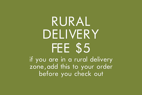RURAL DELIVERY FEE