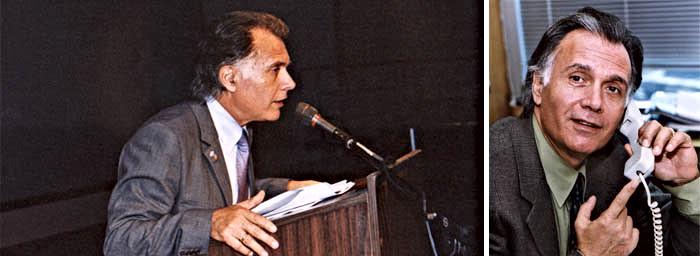 קובי אשרת במשרדו בקונסוליה, ונואם בועידת הקהילות היהודיות בדנבר, קולורדו