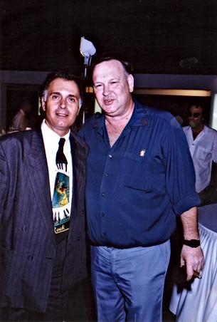 קובי אשרת עם יגאל שילון שביקר בלוס אנג'לס