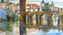 Travel Pro News Comments about Prague Art Escape Plein Air Painting Vacation/Workshop by Margaret St